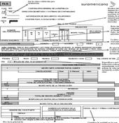 Formulario de descuento de Salario Entidades del Gobierno