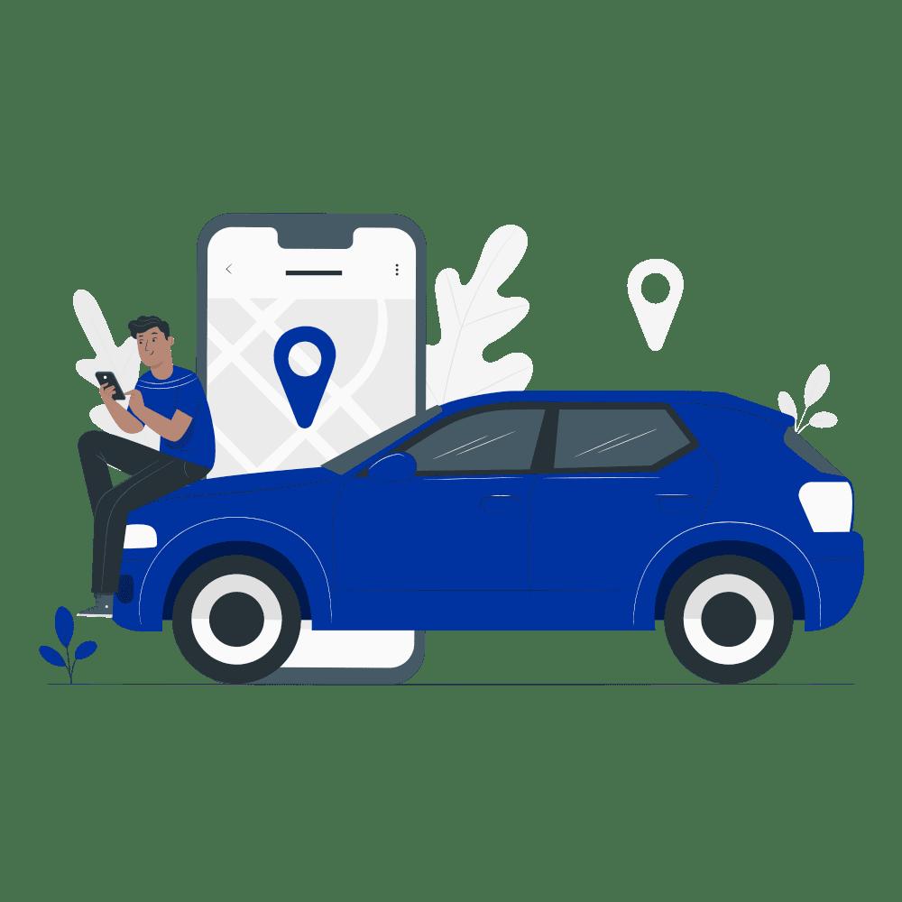 beneficio Conoce la Ubicación de tu Vehículo Seguro Conductor Pro - Seguros SURA